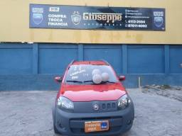 Fiat Uno Way Top de linha 1.4 + Kit gas + 2021 Pago
