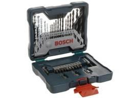 Jogo de brocas e pontas com maleta e 33 peças Bosch X-Line 33