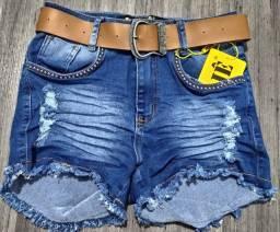 Shorts jeans vários modelos