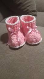 Sapatinhos para Bebês feito a mão