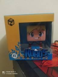 Boneco colecionável link de legend of Zelda kubos nerd ao cubo