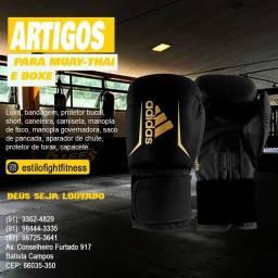 Luva Adidas box e muaythai