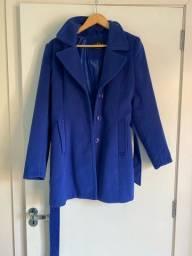 Casaco azul tamanho G