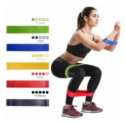 Elastico de exercicios faixa elastica para exercios e musculação e fisioterapia.