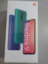 "Redmi 9 64Gb Tela 6.5"" Novo Lacrado"