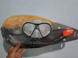 Máscara de mergulho (completo)