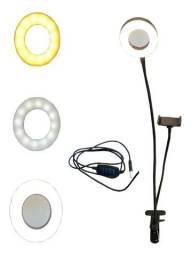 Ring Light De Mesa Led Iluminador C/ Suporte Para Celular Atacado