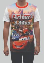 Camisas personalizadas para aniversário