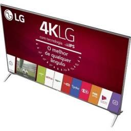 "Smart TV led 43"" LG 43UJ6525 Ultra HD 4K com Conversor Digital 4 HDMI 2 USB WebOS 3.5 Pain"