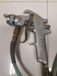 Pistola de pintura com tanque!