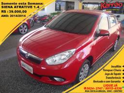 Fiat Siena Attractive1.4 Grand, 2014/2014, R$ 37.000,00 - 2014