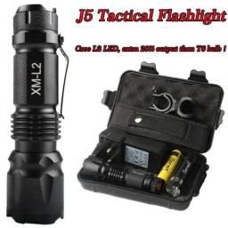 Kit Lanterna Tática Led Zoom Tocha Militar Shadowhawk X800