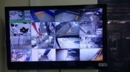 Instalação e Manutenção de Câmeras, Alarmes etc
