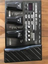 Pedaleira guitarra Boss ME-25