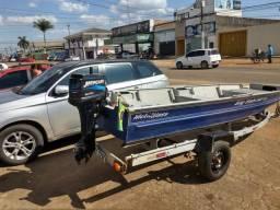 Barco 5,5 metros alumínio r$ 14.000,00 - 2012