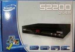 Receptor Analógico Brasilsat S2200 Plus Ill