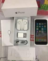 IPhone 6 16gb impecável na caixa
