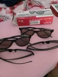 Óculos 3D para TV 4 unidades