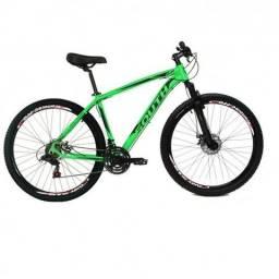 Bicicleta South Legend 29 Cambios Shimano 21v Verde Neon-NOVO