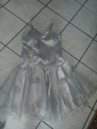 Vestido de 15 anos - Prata