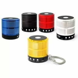 Caixa De Som Bluetooth Ws-887 Mp3 Fm Chamada Pronta Entrega