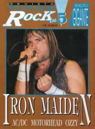 Iron Maiden AC/DC Motorhead Ozzy Osbourne - Revista pôster