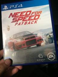 Vendo jogo Need for speed payback ps4