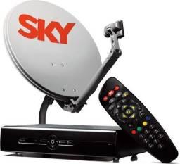 Vendo antena SKY com receptor