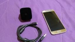 Samsung Galaxy S6 Flat 32GB 4G Dourado - 4X Sem Juros