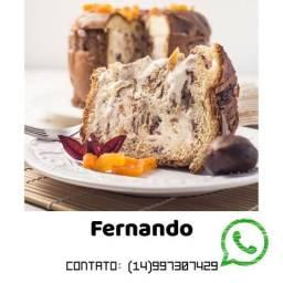 Curso de Panetone Recheado - By Chef Jessica Matukaj