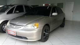 Civic LX Automático Completo Financio - 2001