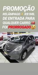 Super SHOWROOM! R$1MIL DE ENTRADA(HONDA FIT AUTOMÁTICO 2013) - 2013