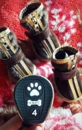 Botinhas de Pelinhos p/ Cachorros N°4