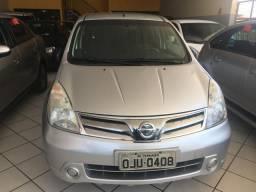Nissan Livinia 1.6 S flex ano 2013 5 lugares - 2013