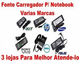 Carregador para notebook varios modelos