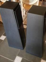 Caixas de som Rega UK importados pretos