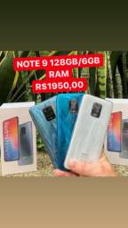 Note 9s 128gb/6gb todas as cores