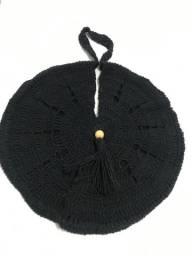 Bolsa de praia em crochê 100% algodão