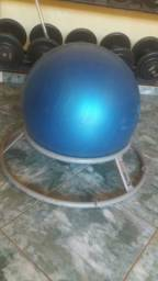 Bola de ginastica com base