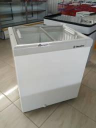 Freezer horiz. Metalfrio 160L, seminovo Frete Grátis