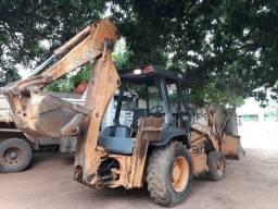 Retro escavadeira Case 580L novissima!