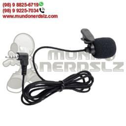 Microfone De Lapela Stereo P3 X-cell xc-ml-02 em São Luís Ma