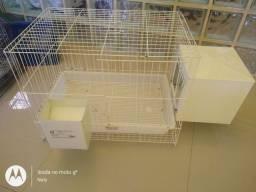 Gaiola de coelho, hamster, porquinho