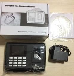Relógio Ponto Biométrico Digital em Português