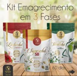 Kit chá Emagrecedor Maravilhas da Terra