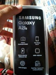 Vendo a21s lançamento da Samsung novo