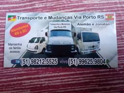 Mudanças e transportes!
