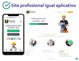 Site para Profissionais e Empresas