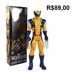 Wolverine Coringa Joker Bonecos de Coleção