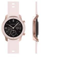 Relógio Amazfit GTR Cherry Blossom Pink 42mm A1910 Rosa